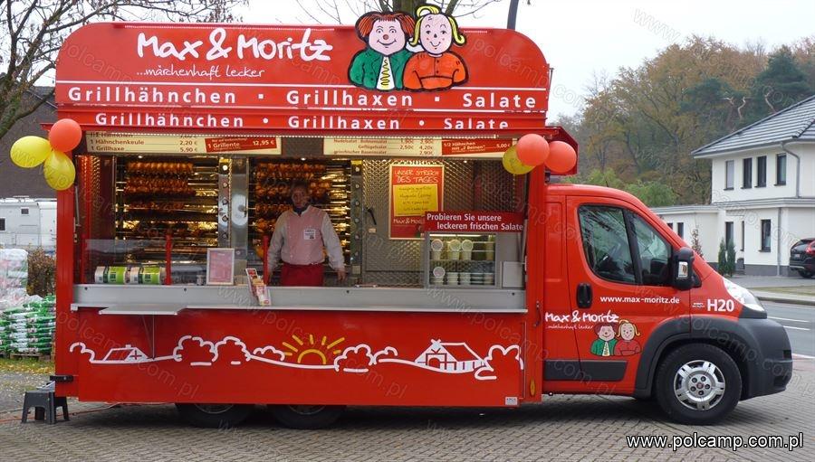 Chicken Rotisserie Van Cooperation With Kk Verkaufsfahrzeuge